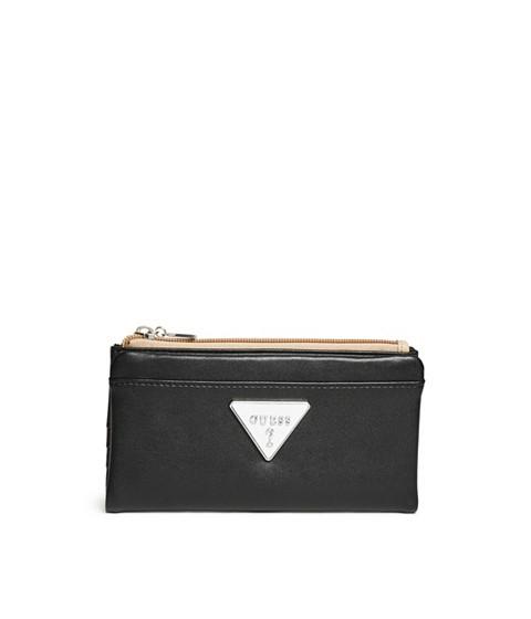 Accesorii Femei GUESS Adlington Color-Block Foldover Wallet black multi