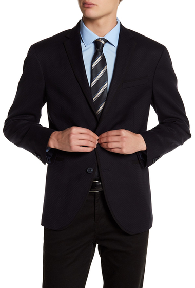 Imbracaminte Barbati Kenneth Cole New York Trim Fit Evening Jacket NAVY