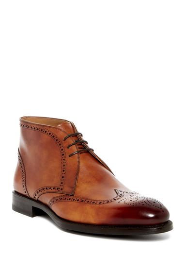 Incaltaminte Barbati Magnanni Regal Leather Chukka Boot CUERO