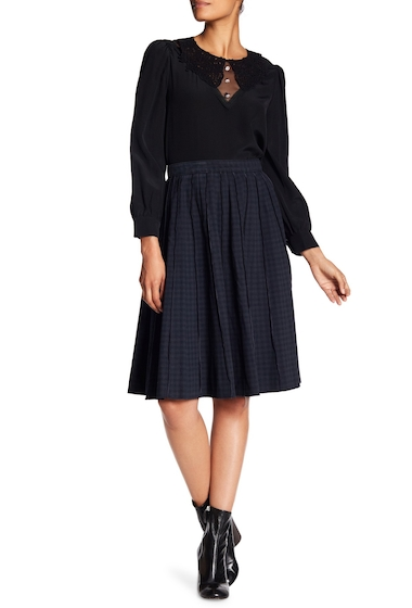 Imbracaminte Femei Marc Jacobs Overdye Gingham Pleated Skirt GINGHAM