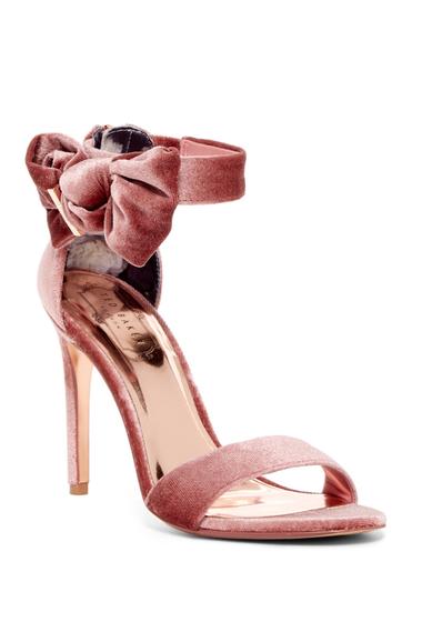 Incaltaminte Femei Ted Baker London Torabel Velvet Bow Stiletto Heel MINK