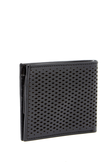 Accesorii Barbati Cole Haan Leather Billfold Coin Case Wallet BLACK