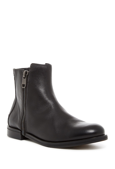 Incaltaminte Barbati Diesel Zip-Round Dressy D-Zipphim Leather Boot BLACK