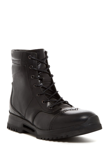 Incaltaminte Barbati Diesel Edgekore D-Klosure II Leather Boot BLACK