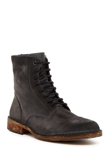Incaltaminte Barbati Diesel Dopper D-Pit Leather Boot VERYBLACK