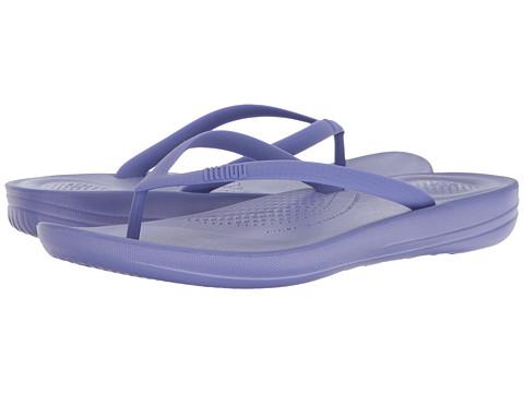 Incaltaminte Femei FitFlop Iqushion Ergonomic Flip-Flop Blue Violet