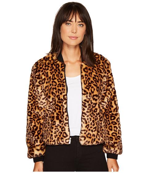 Imbracaminte Femei Liebeskind Leopard Faux Fur Jacket Tan