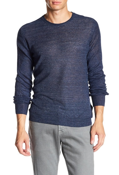 Imbracaminte Barbati Belstaff Nevenden Crewneck Washed Sweater WASHED NAVY