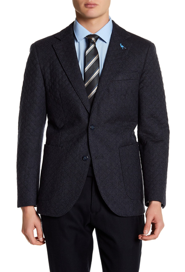 Imbracaminte Barbati TailorByrd Classic Quilted Sport Coat CHARCOAL