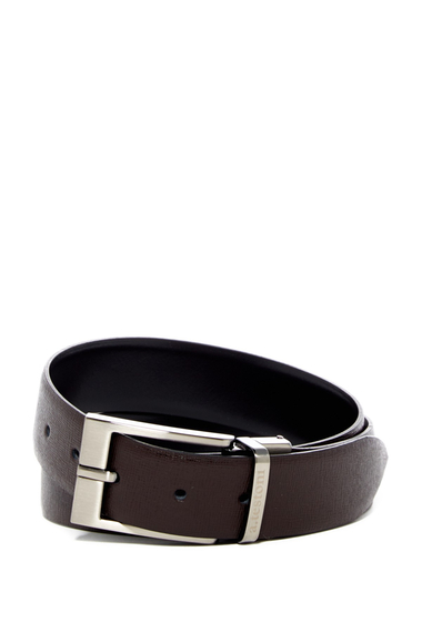 Accesorii Barbati A Testoni Leather Belt MORO