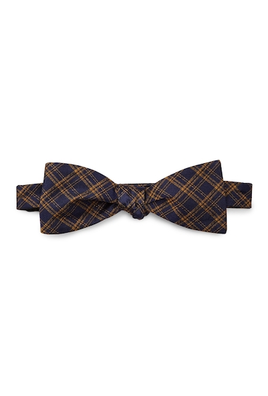 Accesorii Barbati Ben Sherman Warner Plaid Bow Tie NAVY-YELLOW