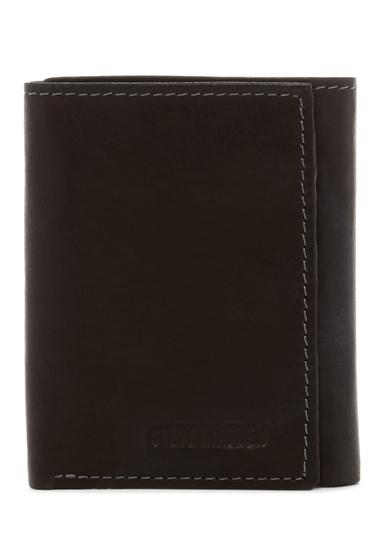 Accesorii Barbati Steve Madden Antique Leather Tri-fold Wallet BLACK