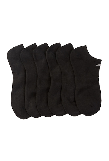 Accesorii Barbati adidas Cushioned No Show Socks - Pack of 6 BLACK