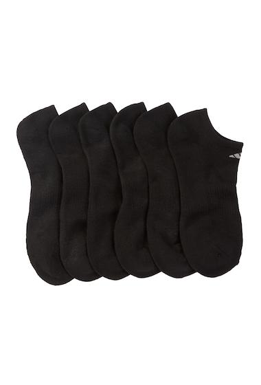 Accesorii Barbati adidas Cushioned No Show Socks - Pack of 6 BLACK