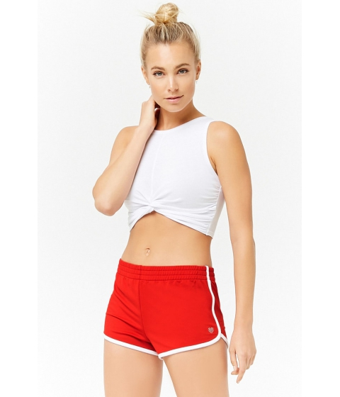 Imbracaminte Femei Forever21 Active Dolphin Shorts REDWHITE