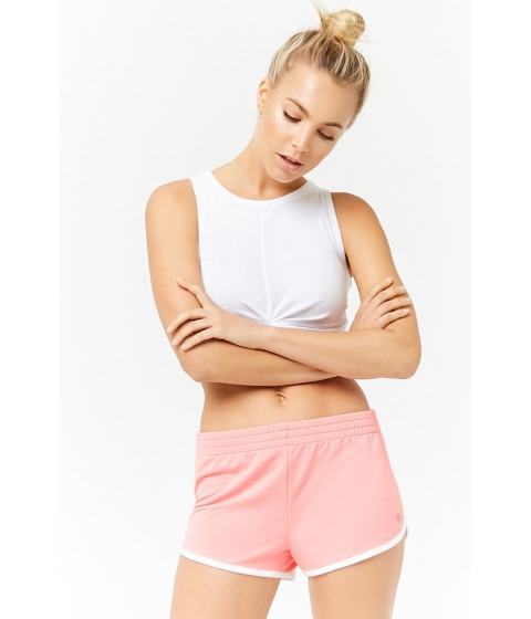 Imbracaminte Femei Forever21 Active Dolphin Shorts PINKWHITE