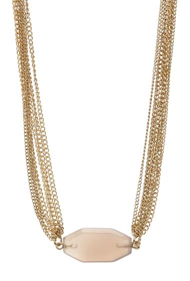Bijuterii Femei Melrose and Market Multi-Layer Pendant Necklace GREY- GOLD