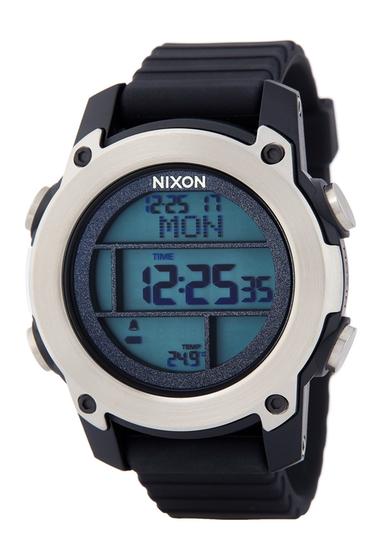 Ceasuri Barbati Nixon Mens Unit Dive Digital Watch 48mm BLK