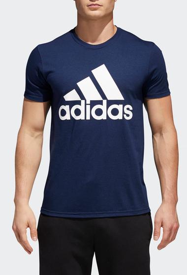 Imbracaminte Barbati adidas Short Sleeve Logo Tee CONAVY-WHI