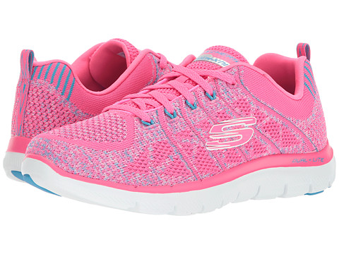 Incaltaminte Femei SKECHERS Flex Appeal 20-New Gem Hot PinkBlue