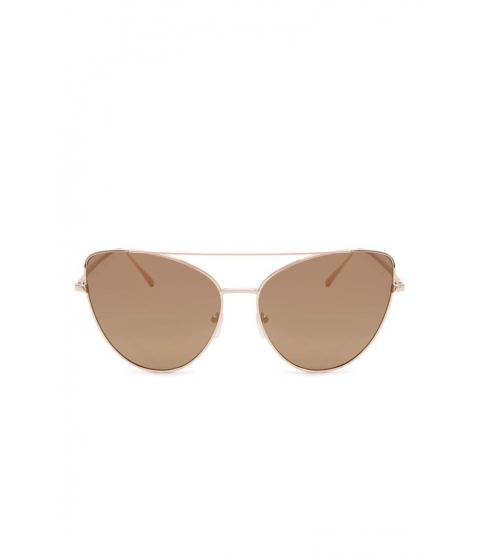 Ochelari Femei Forever21 Mirrored Cateye Sunglasses GOLDBRONZE