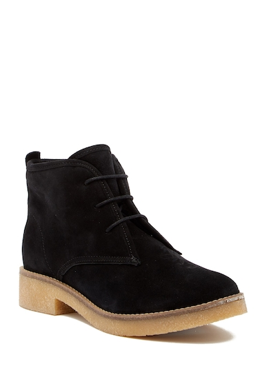 Incaltaminte Femei Matt Bernson Andes Genuine Shearling Lined Chukka Boot BLACK SHEARLING