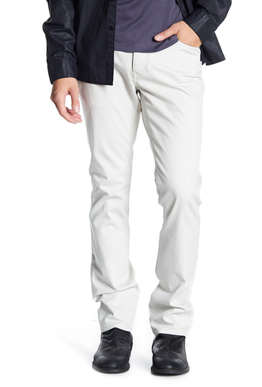 Imbracaminte Barbati John Varvatos Collection Woodward Slim Straight Leg Pants OAT