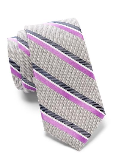 Accesorii Barbati 14th Union Gabriel Stripe Tie PURPLE