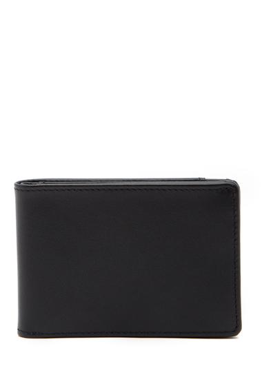 Accesorii Barbati Boconi Collins Leather Slimster Bifold Wallet BLACK