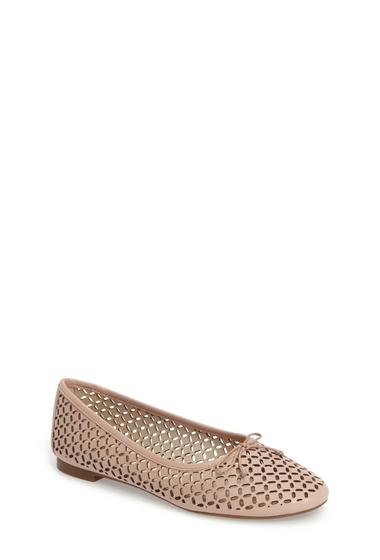 Incaltaminte Femei Louise et Cie Footwear Congo Perforated Flat BEGONIA 03