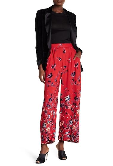 Imbracaminte Femei Angie Wide Leg Cuff Pants RED