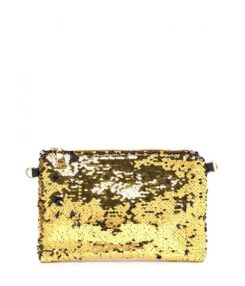 Accesorii Femei CheapChic Have A Shine Time Sequined Clutch Gold