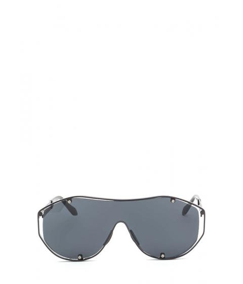 Accesorii Femei CheapChic Glam Athlete Shiny Shield Sunglasses Blackblack
