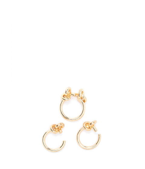 Accesorii Femei CheapChic Knot Your Average Three-ring Set Gold