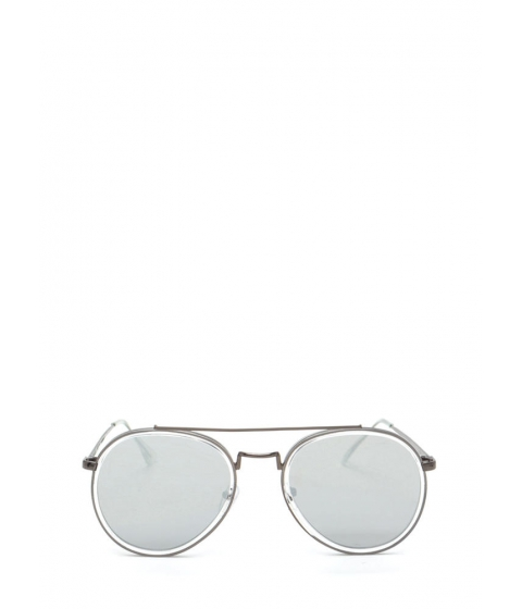 Accesorii Femei CheapChic Keep Your Cool Mirrored Sunglasses Greygunmetal