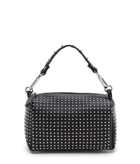 Accesorii Femei CheapChic Stud-y Buddy Faux Leather Mini Bag Black