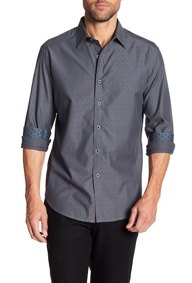 Imbracaminte Barbati Robert Graham Lino Lakes Woven Classic Fit Shirt GREY