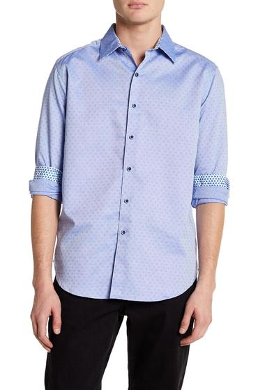 Imbracaminte Barbati Robert Graham St Louis Park Woven Classic Fit Shirt COBALT