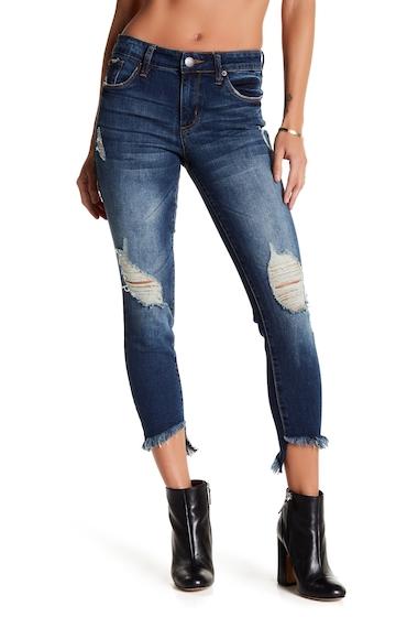 Imbracaminte Femei STS BLUE Emma Curved Hem Skinny Jeans NORTH MANDEVILL