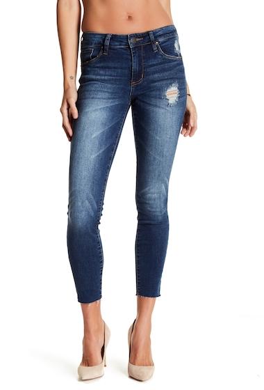 Imbracaminte Femei STS BLUE Piper Raw Hem Ankle Skinny Jeans BALBOA WMED BA