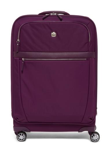 Genti Femei SwissGear Geneva 24 Expandable Spinner Suitcase PURPLE