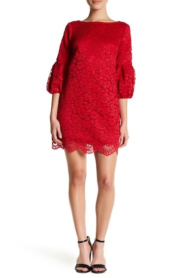 Imbracaminte Femei Eliza J Lace Shift Dress Petite RED