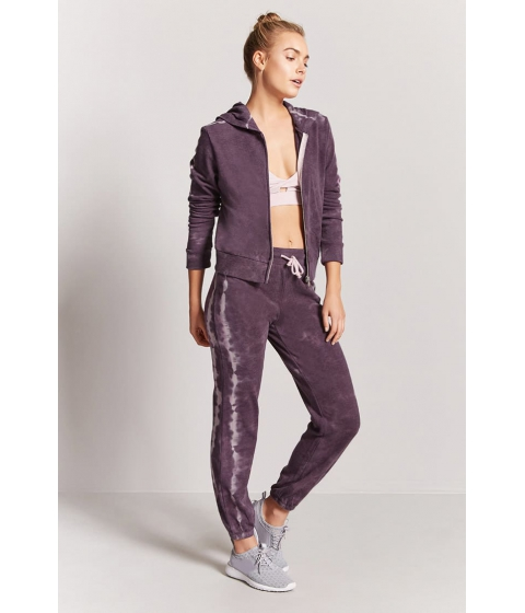 Imbracaminte Femei Forever21 Active French Terry Mineral Wash Pants VIOLETLILAC