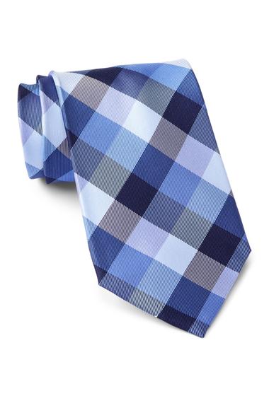 Accesorii Barbati Tommy Hilfiger Silk Buffalo Tartan XL Tie NAVY