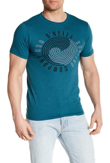 Imbracaminte Barbati ONeill Vertigo Graphic Tee Shirt CYAN BLK H