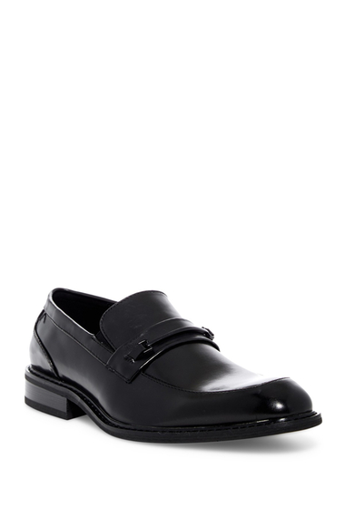 Incaltaminte Barbati Kenneth Cole Reaction Apron Toe Bit Loafer BLACK