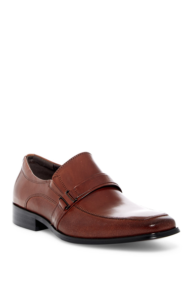 Incaltaminte Barbati Kenneth Cole Reaction Apron Toe Textured Loafer BRANDY