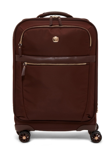 Genti Femei SwissGear 20 Expandable LiteWeight Carry-On Suitcase COPPER