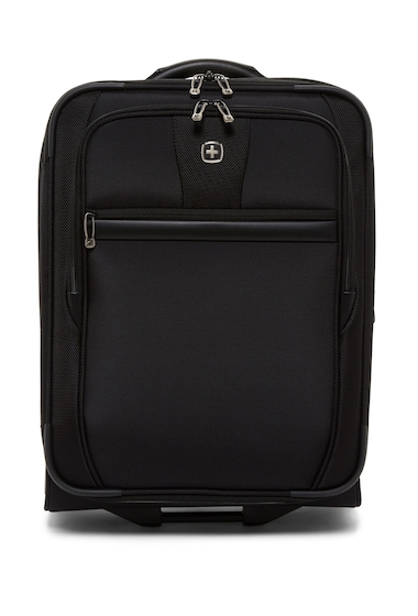 Genti Femei SwissGear 20 2-Wheel Expandable Upright Suitcase BLACK