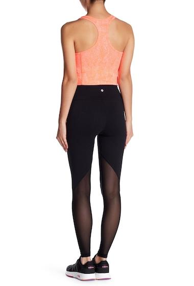 Imagine indisponibila pentru Imbracaminte Femei Bally Total Fitness Jolt Mesh Detail Leggings 001 BLACK